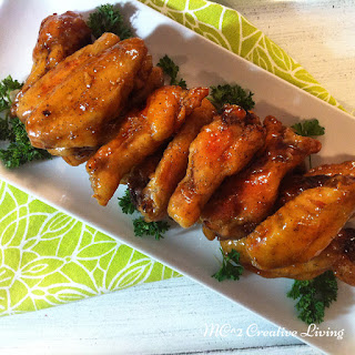Hoisin Honey Chicken Wings