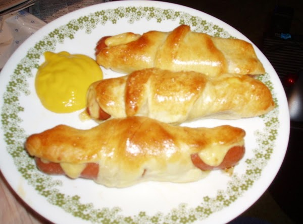 Crescent Wrap Cheese Hot Dogs Recipe
