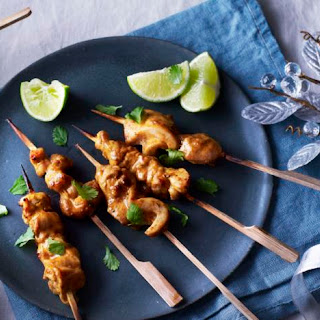 Tandoori Chicken Party Skewers.