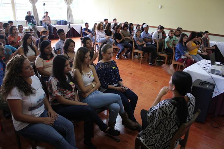 ENTRE MÚSICA Y PROMOCIÓN DE PAZ, JÓVENES DISFRUTARON DE CAMPAMENTO ESTUDIANTIL