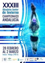 Cinco nadadores del CD Natación Ciudad de Algeciras acuden al absoluto-junior andaluz