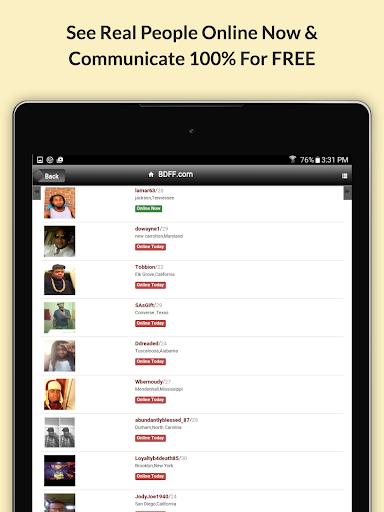 BDFF u2665 100% Free Black Dating 9.1 screenshots 10