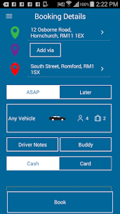 Hornchurch MiniCabs- screenshot thumbnail