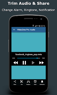 Video2me Pro: Gif Maker, Video-Mp3 Editor, Trimmer Screenshot