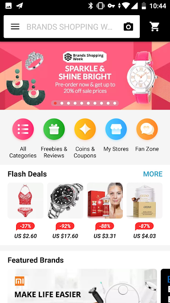 AliExpress - Smarter Shopping, Better Living Android App Screenshot