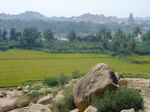 Photo: View over Hampi