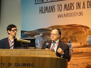Photo: Andre Caminoa and Giorgio Gaviraghi, Unispace
