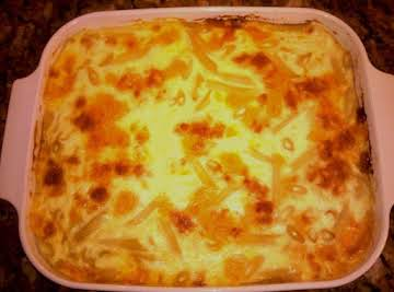 Jane's Baked Macaroni and Cheese