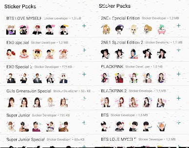 WAStickerApps Korean Idol Sticker for WhatsApp Download For Android 3