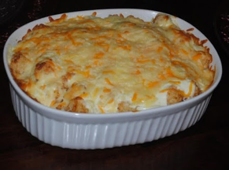 Bratwurst and Tater Tot Casserole Recipe