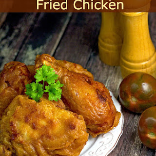 Beer Batter Dipt Fried Chicken