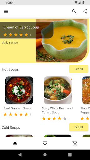 Soup Recipes screenshot