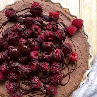 Paleo Baking's Fresh Raspberry French Silk Pie