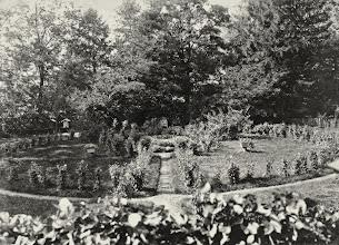 Photo: Ogród przed wejściem do Zameczku.