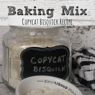 Homemade Baking Mix Recipe   Copycat Bisquick.