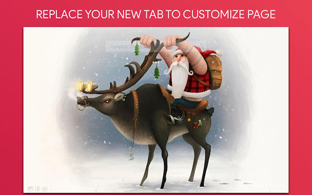 Christmas Wallpaper HD Custom New Tab