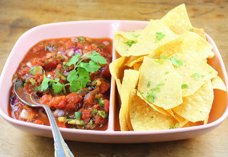 Mexican Restaurant Table Salsa Recipe