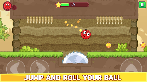 Bounce Ball 5 - Red Jump Ball Hero Adventure filehippodl screenshot 2