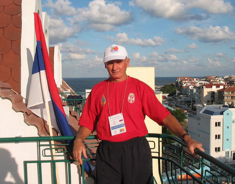 Photo: WORLD ARDF PRIMORSKO BUG 2006. - sa hotelske terase