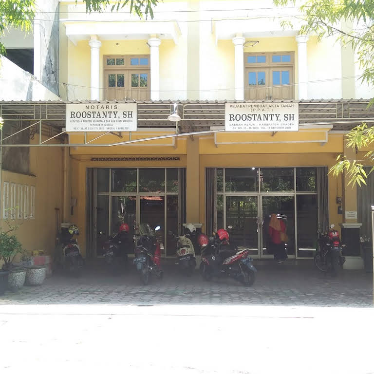 Kantor Notaris Ppat Roostanty Sh Notary Public