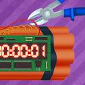 Defuse the bomb: Cut wire icon