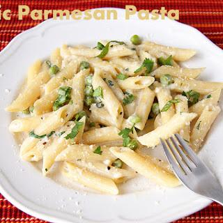 Garlic Parmesan Pasta.