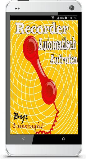 Recorder Automatisch Aufrufen