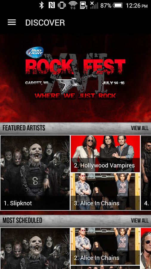 Rock Fest 2016- screenshot