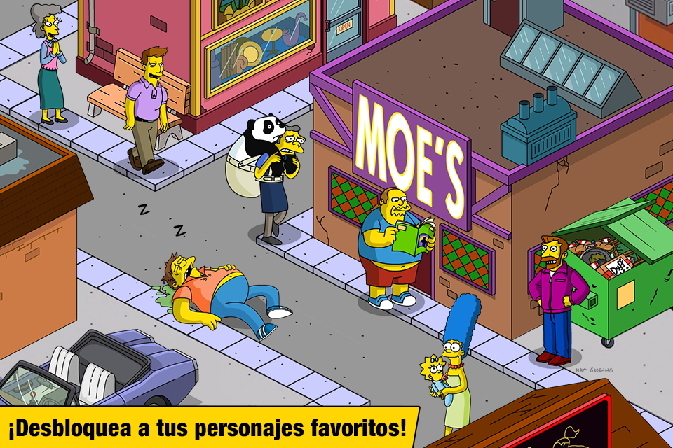 Los Simpson Springfield  Aplicaciones Android en Google Play