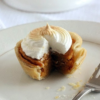 Mini Sweet Potato Meringue Pies.