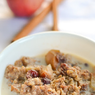 Slow Cooker Apple-Cinnamon Steel-Cut Oatmeal