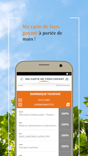 carte de tiers payant VIVINTER – Applications sur Google Play