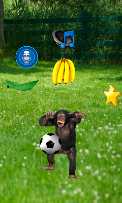Funny Talking Monkey - screenshot