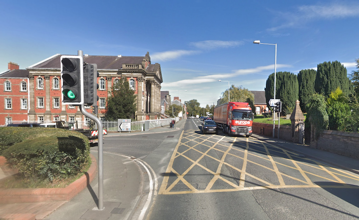Woman suffers head injuries in town centre accident