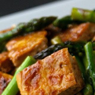 """""""Dry Fry"""" Tofu Stir-Fry with Asparagus"""
