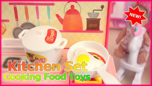 Kitchen Set Cooking Food Toys  screenshots 4