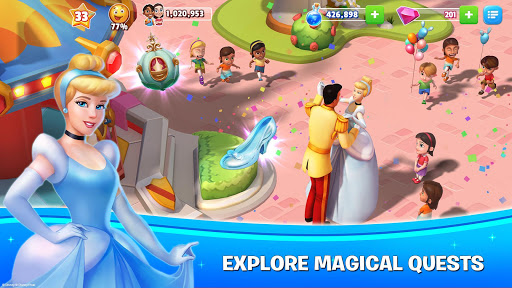 Disney Magic Kingdoms: Build Your Own Magical Park  screenshots 2