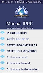 Manual IPUC - náhled