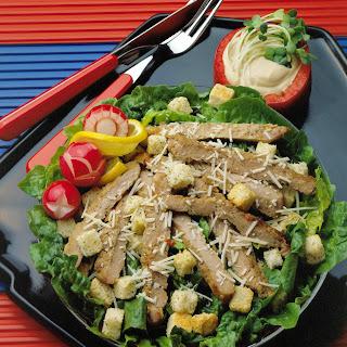 Pork Caesar Salad.