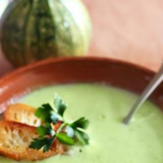 Cream of Zucchini Soup - Sopa De Calabacitas Recipe