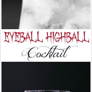 Eyeball Highball Cocktail for Halloween