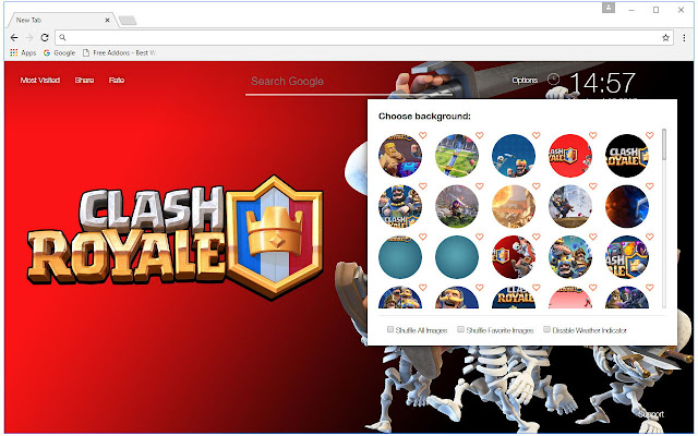 Clash Royale Wallpaper HD New Tab Themes