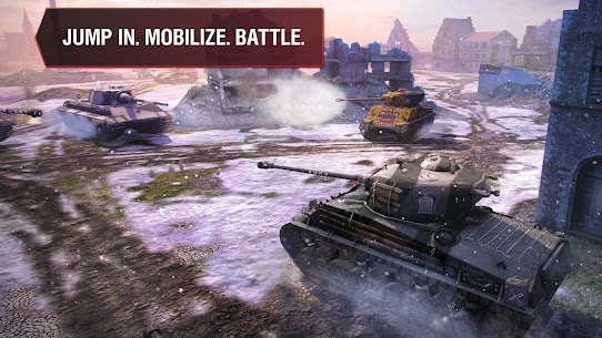 World of Tanks Blitz MOD (Unlimited Gold) 5