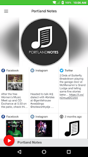 Portland Notes- screenshot thumbnail