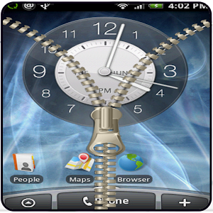 Transparent Zipper Screen Lock 1.0