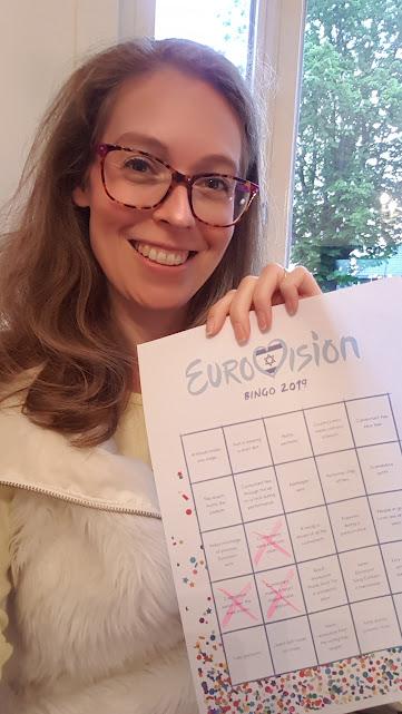 eurovisie songfestival 2019 bingo team confetti