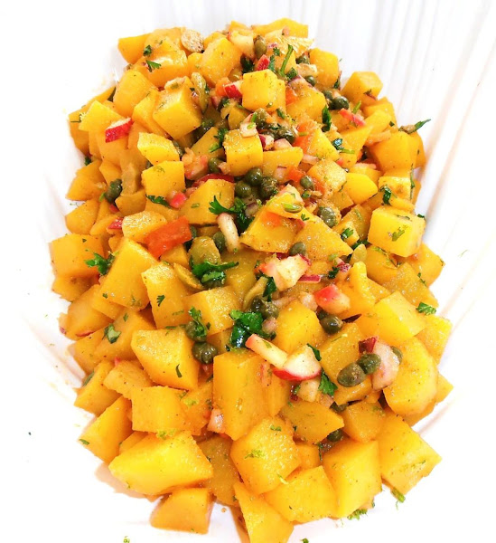 Mexican Yellow Potato Salad Recipe