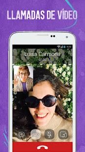 Viber: miniatura de captura de pantalla
