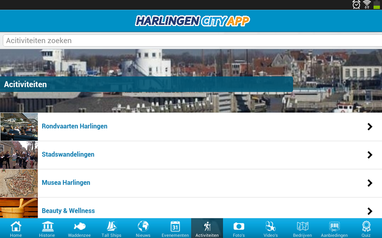 Harlingen City App- screenshot