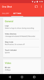 One Shot screen recorder (PRO)- screenshot thumbnail